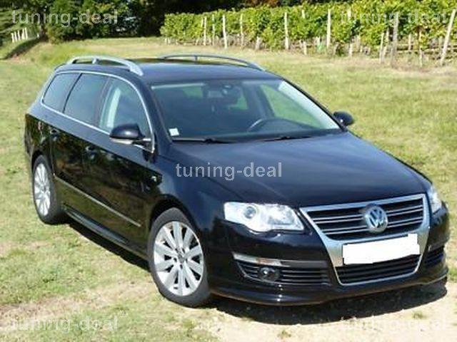vw passat variant limousine b6 3c frontspoiler r line top. Black Bedroom Furniture Sets. Home Design Ideas