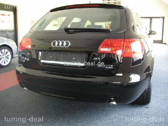 audi a6 avant c6 s6 heckspoiler s line optik ab 2006. Black Bedroom Furniture Sets. Home Design Ideas