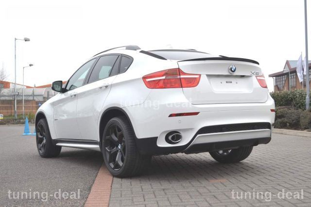 bmw x6 e71 m heckspoiler performance spoiler neu racing ebay. Black Bedroom Furniture Sets. Home Design Ideas