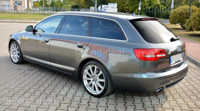 audi a6 c6 4f avant limousine facelift heckdiffusor s line. Black Bedroom Furniture Sets. Home Design Ideas